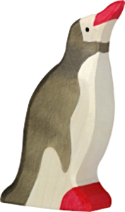 Holztiger Penguin, Head Raised
