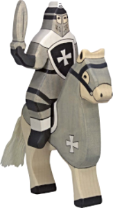 Holztiger Tournament Horse, Black